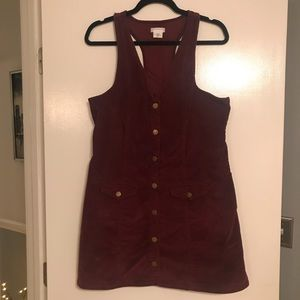 Urban outfitters corduroy dress